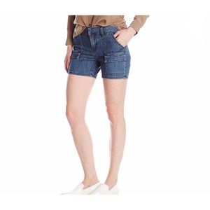Kut from the Cloth Cargo Denim Shorts NWT
